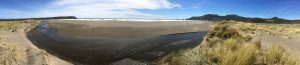 Panorama von Strand bei Chepu