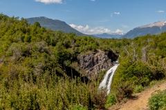 Argentinien - Patagonien - 7 Seen-Route (Ruta de los Siete Lagos) - Cascada Vulinanco