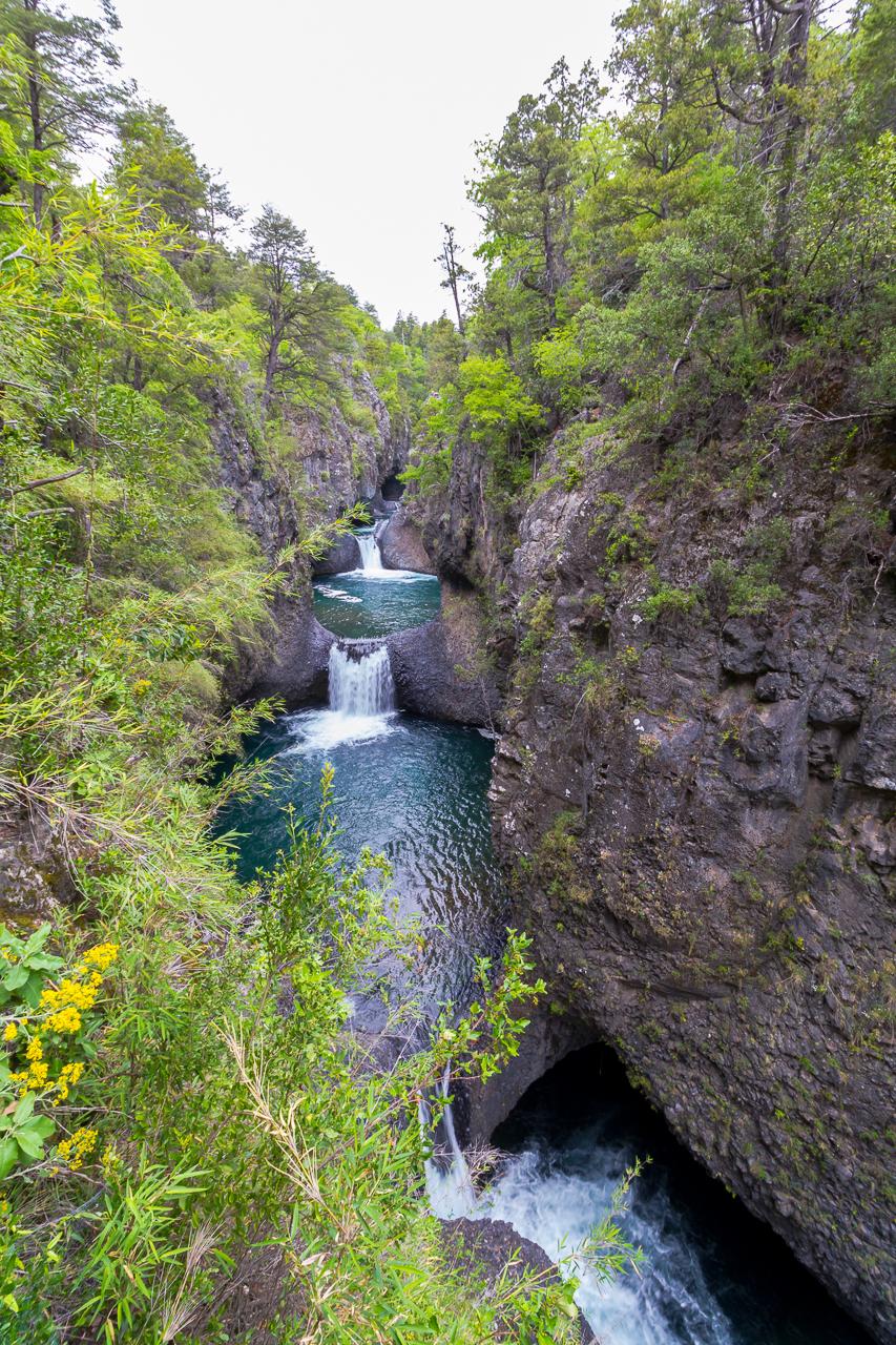 Chile - Nationalpark Siete Tazas