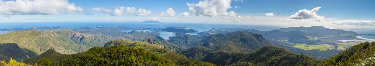 Neuseeland - Great Barrier Island - Mount Hobson
