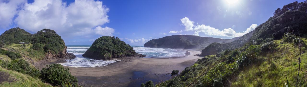 Neuseeland - Auckland Region - Waitakere Ranges - Bethells Beach