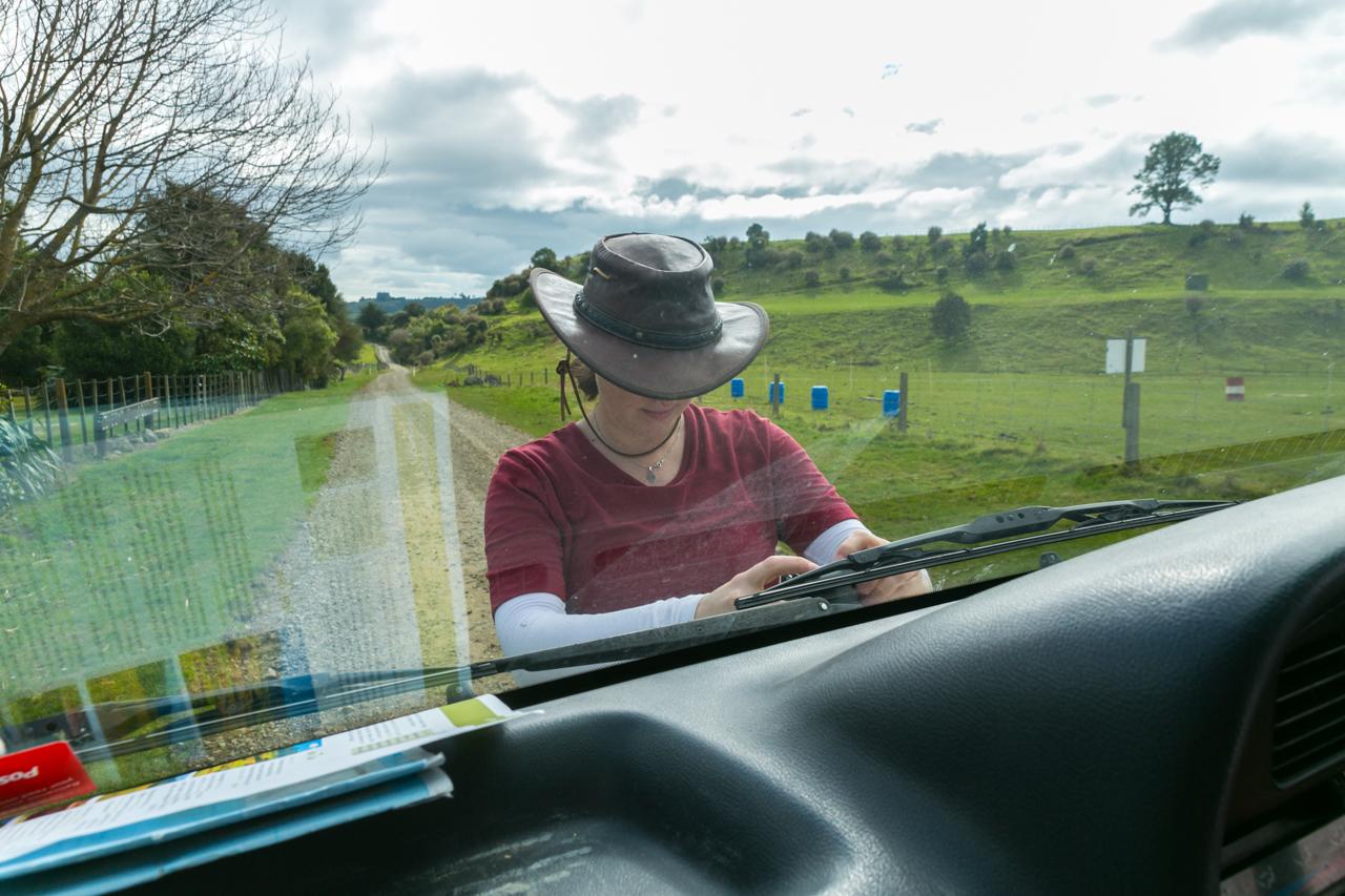 Neuseeland - Nordinsel - Manawatu Scenic Route - Actioncam startklar machen