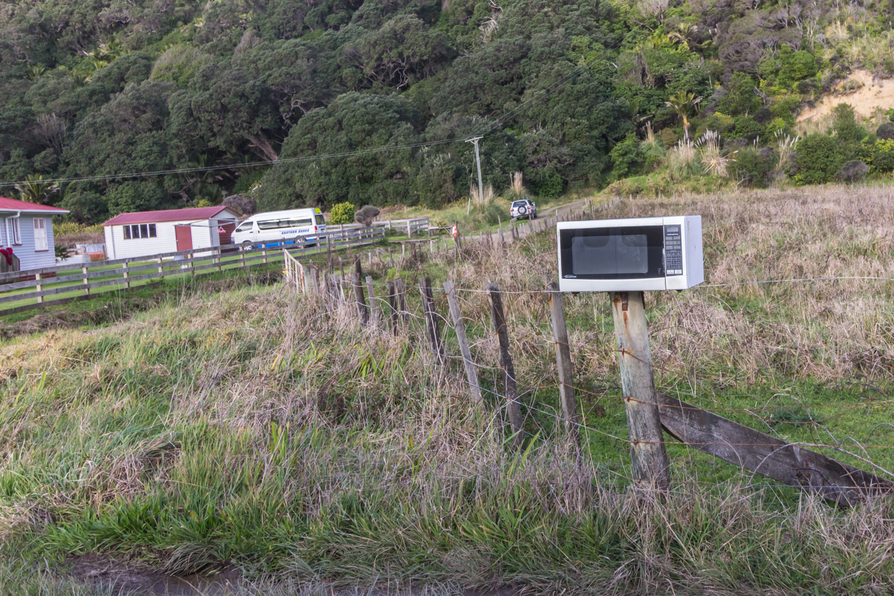 Neuseeland - Nordinsel - Ostküste - Eastcape - ein Briefkasten