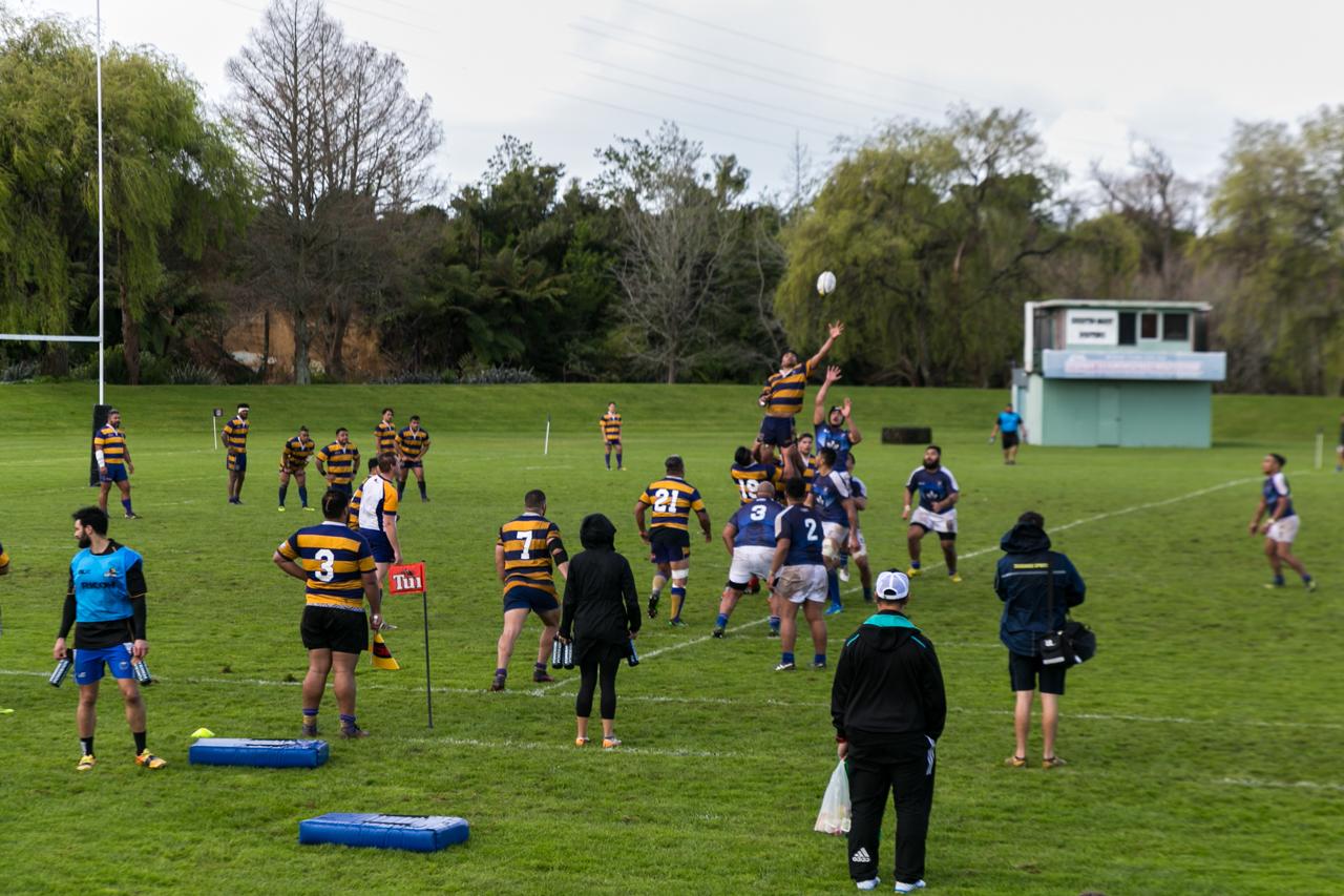 Neuseeland - Nordinsel - Ostküste - Bay of Plenty - Tauranga - irgendein Rugby Spiel :-)