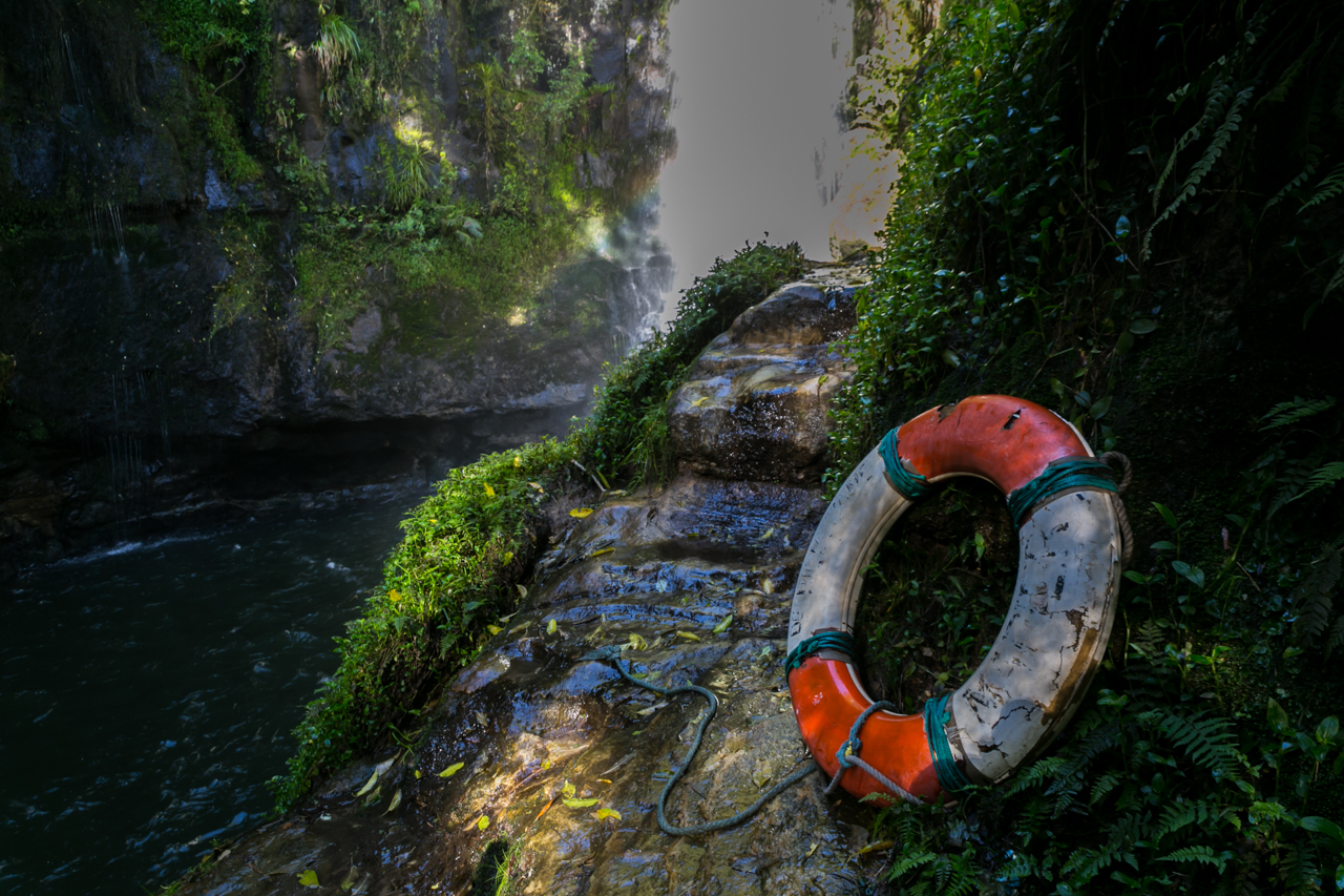 Neuseeland - Nordinsel - Ostküste - Bay of Plenty - Tauranga - Rerekawau Falls