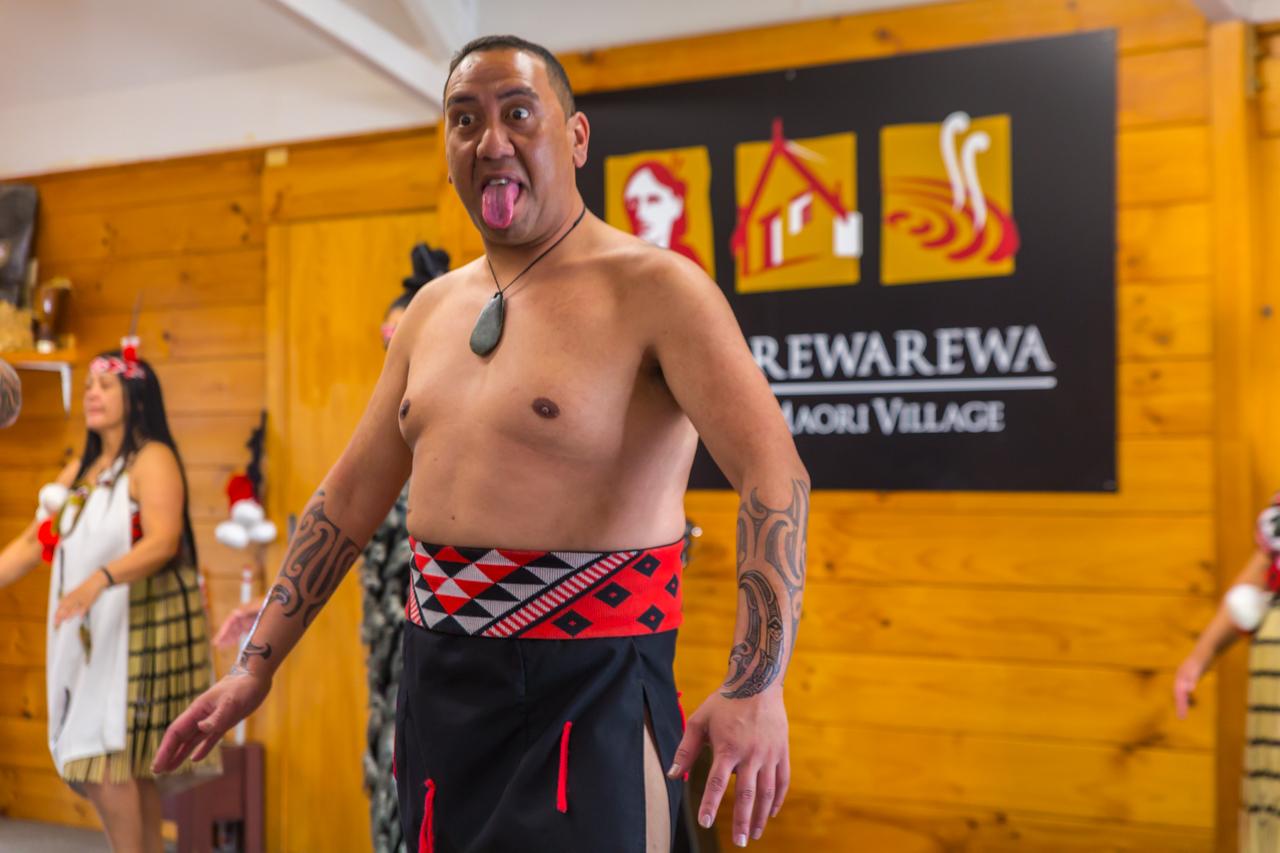 Neuseeland - Nordinsel - Rotorua - Whakarewarewa - The Living Maori Village