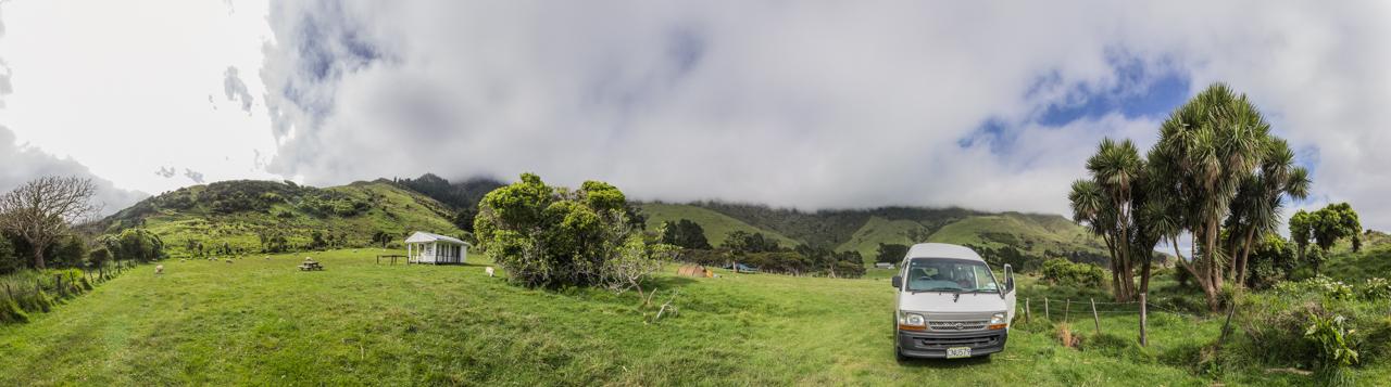 Neuseeland - Queen Charlotte Sound - Titirangi Bay