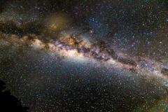 Neuseeland - Great Barrier Island - Der Nachthimmer über der Insel - unsere Milchstraße
