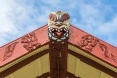 Neuseeland - Nordinsel - Ostküste - Bay of Plenty - das Marae von Torere