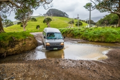 Neuseeland - Nordinsel - Coromandel - Wasserdurchfahrten :-)