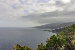 La Palma - Blick auf Santa Cruz