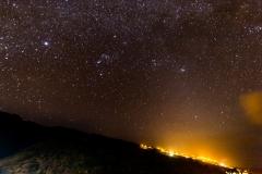 La Palma - Nachthimmel in Barlovento