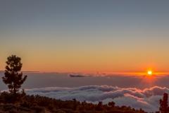La Palma - Sonnenuntergang am Roque de los Muchachos