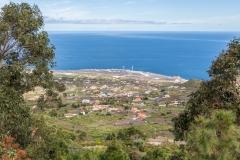 La Palma - Blick auf den Flughafen