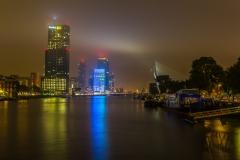Rotterdam bei Nacht