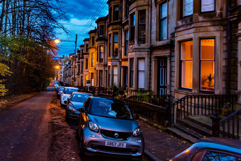 Schottland - Westend in Glasgow