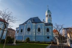 Slowakei - Bratislava- Blaue Kirche