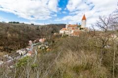 Tschechien  - Burg Křivoklát