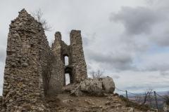 Tschechien - Pálava Protected Landscape Area - Sirotčí hrádek