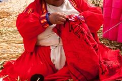 Schwimmende Inseln von Urus - Titicacasee - Peru