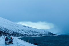 Auf den Weg in die Westfjords - Island