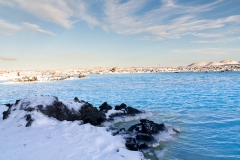 IReykjanes Halbinsel - Blaue Lagune - Island