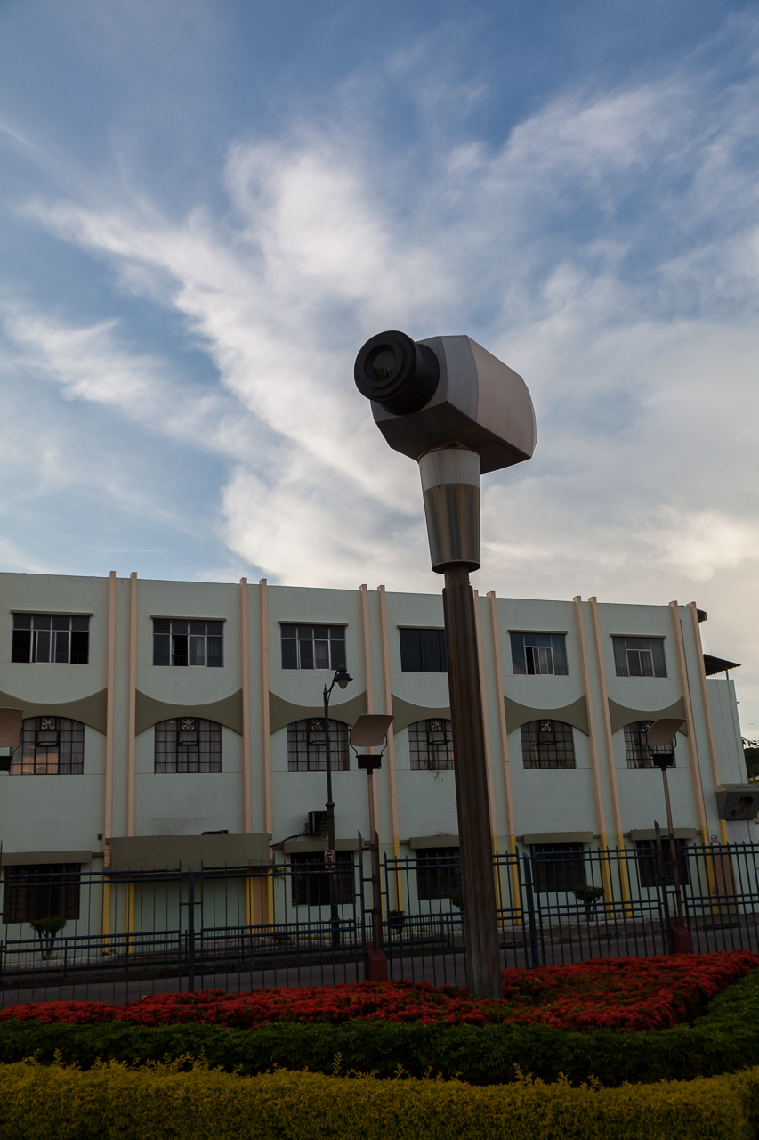Guayaquil - Malecon 2000 - ein Denkmal für Videoüberwachung?