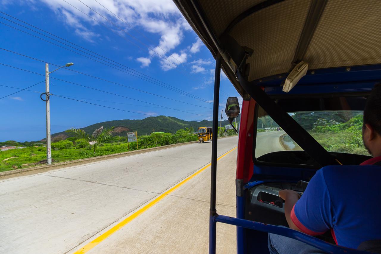 Puerto Lopez - auf dem Weg zum Busterminal