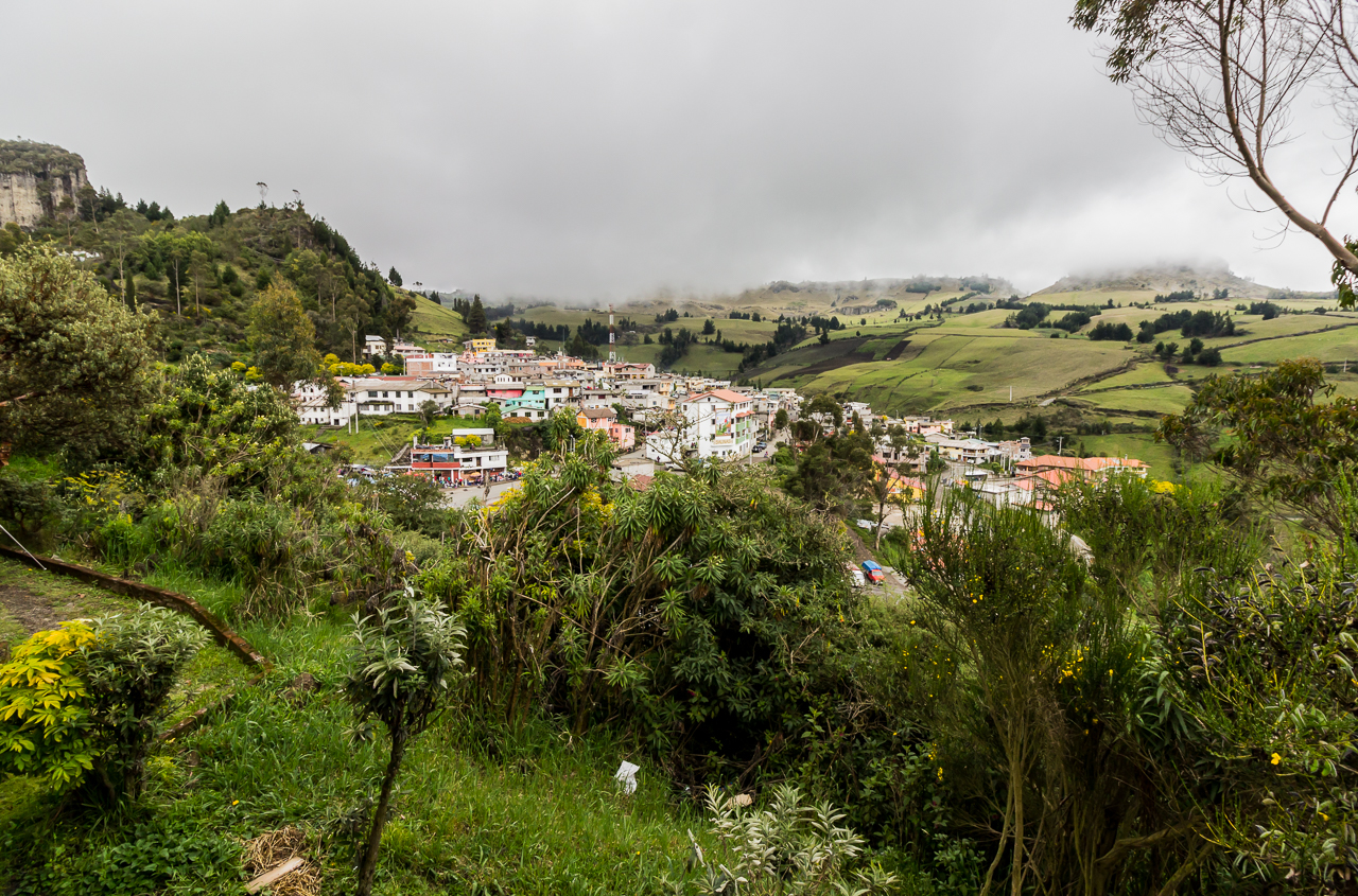 Salinas - Blick auf das Dorf