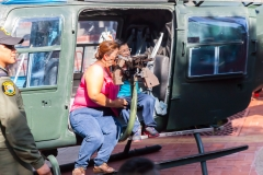 Guayaquil - Malecon 2000 - offenbar freuen sich Mütter, wenn Kinder zum Töten geschickt werden.. komische Welt