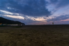 Puerto Lopez - Sonnenuntergang am Pazifik