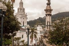 Quito - In der Innenstadt.