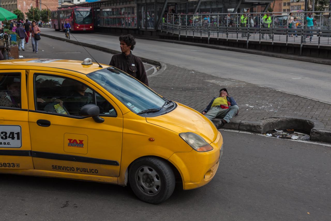 Bogota - aus der Innenstadt raus - total anderes Bild