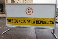 Bogota - Beim Presidentenpalast.
