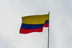 Die kolumbianische Flagge.