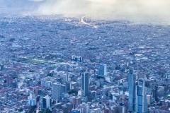 Bogota - Blick vom Monserrate