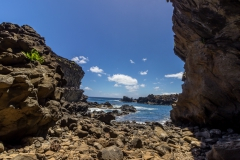 Osterinsel - Höhle Ana Kai Tanata