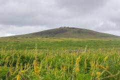 Osterinsel: Blick auf den Vulkan Puakatike/Poike