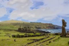 Osterinsel - noch mal der Ahu Tongariki