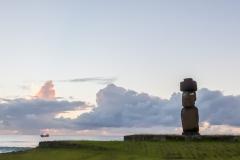 Osterinsel - Sonnenuntergang beim Tahai