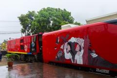 Ecuador - Tren de la Dulzura - die Lok