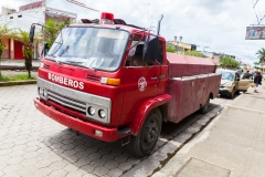 Ecuador - Tren de la Dulzura - Feuerwehr in Bucay ;-)