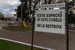 Ambato - euer Park, wenn ihr ihn geputt macht, lebt damit.