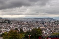 Quito - Blick auf einen kleinen Teil der Stadt