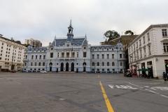 Das Hauptquartier der chilenischen Marine.