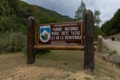 Der Eingang zum Nationalpark.
