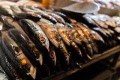 Frischer Fisch auf dem Fischmarkt