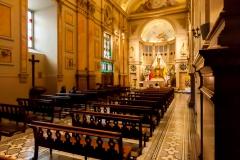 Im Inneren der Kathedrale
