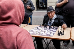 Open Air Schach mit Stil