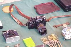 Oder alte russische Kameras.